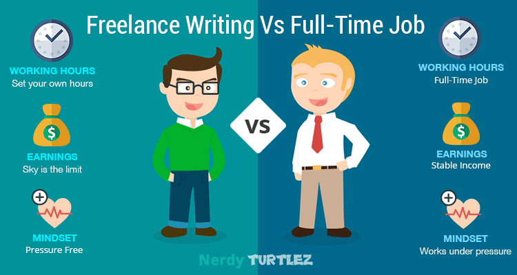 Job Hunting In Digital Age: Freelance Writing Vs Full-Time Job